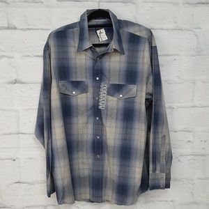 NWT Men's Pendelton Long Sleeve Button Down Shirt